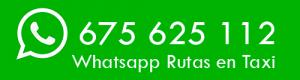 Whatsapp Taxi Camino de Santiago